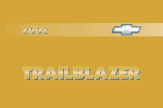 Chevrolet TrailBlazer 2002-2009. Owners manuals