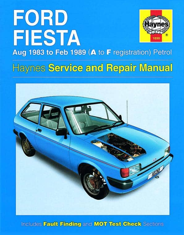 Ford Fiesta 1983-1989. Haynes service and repair manual