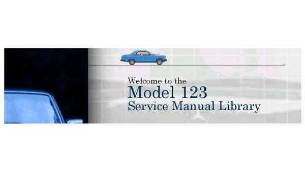 Mercedes Model W123. Service Manual Library