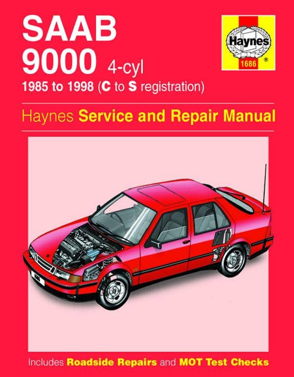 Saab 9000 1985-1998 Haynes service and repair manual