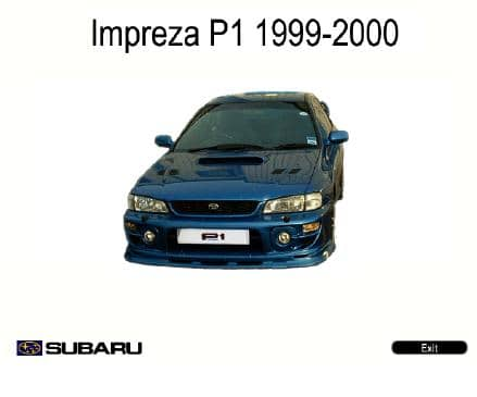 Subaru Impreza. 1999-2000. Workshop Manuals