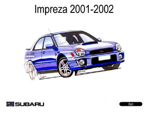 Subaru Impreza. 2001-2002. Workshop Manuals
