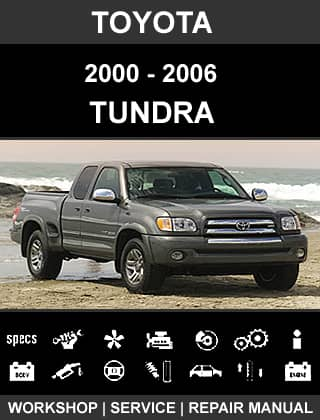 Toyota Tundra. Workshop, service and repair manual