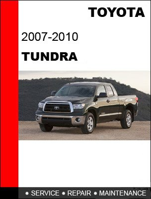 Toyota Tundra 2007-2010. Service Repair Manual