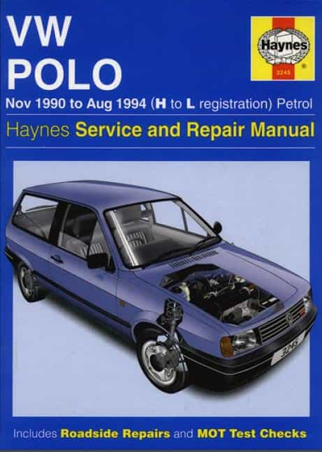 Volkswagen Polo 1990-1994. Service and repair manual