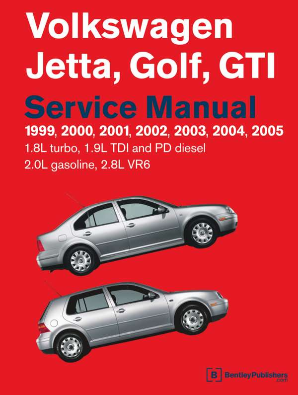 Volkswagen Golf, Jetta, GTI 1999-2005. Repair manual