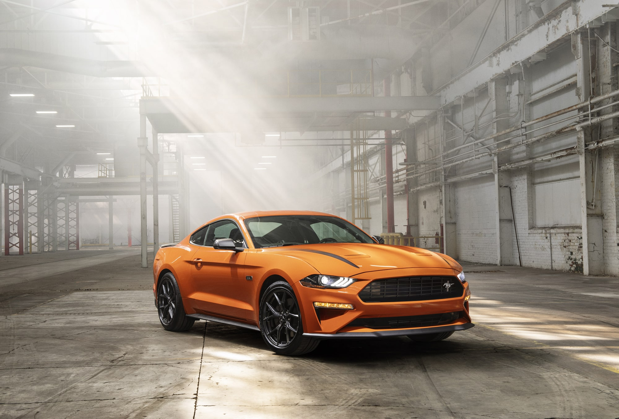 Модель Ford Mustang High Performance получила массу доработок