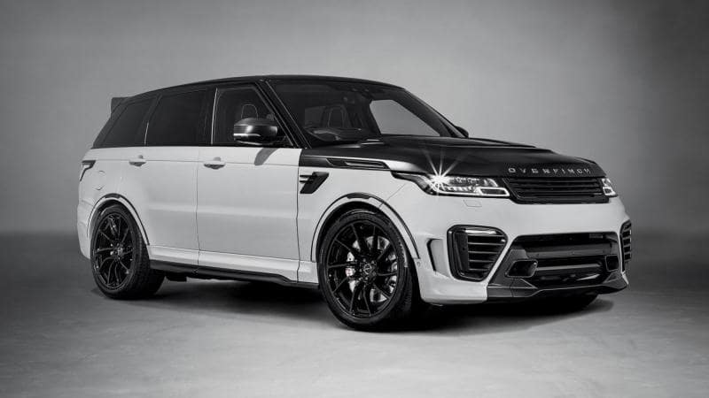 Что круче Range Rover Sport SVR? Overfinch Supersport!