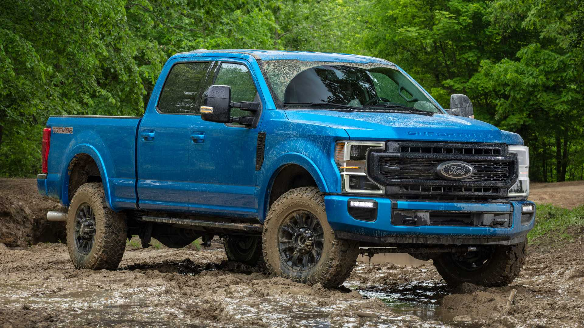 Ford подготовил пикап F-Series Super Duty для бездорожья