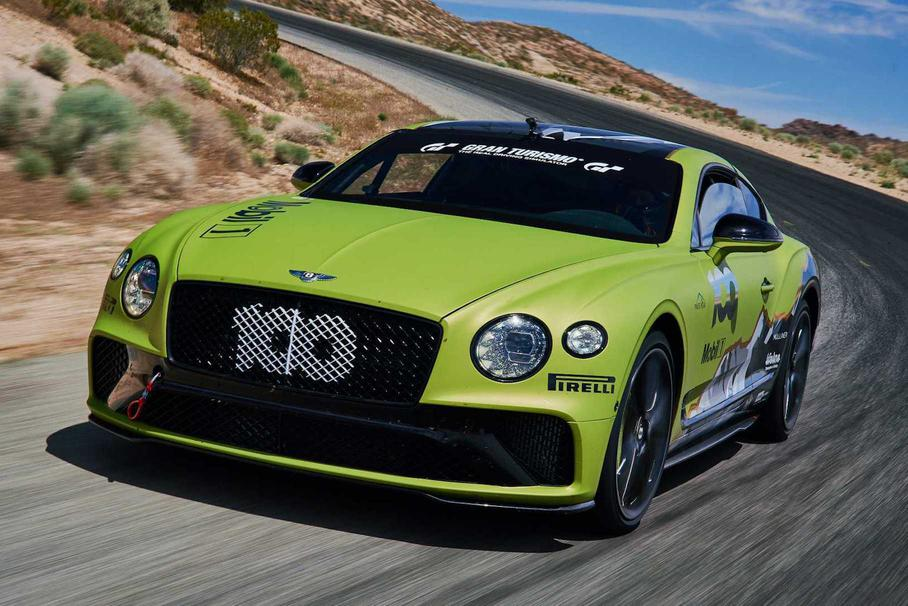 Купе Bentley Continental GT установило рекорд на Пайкс-Пике