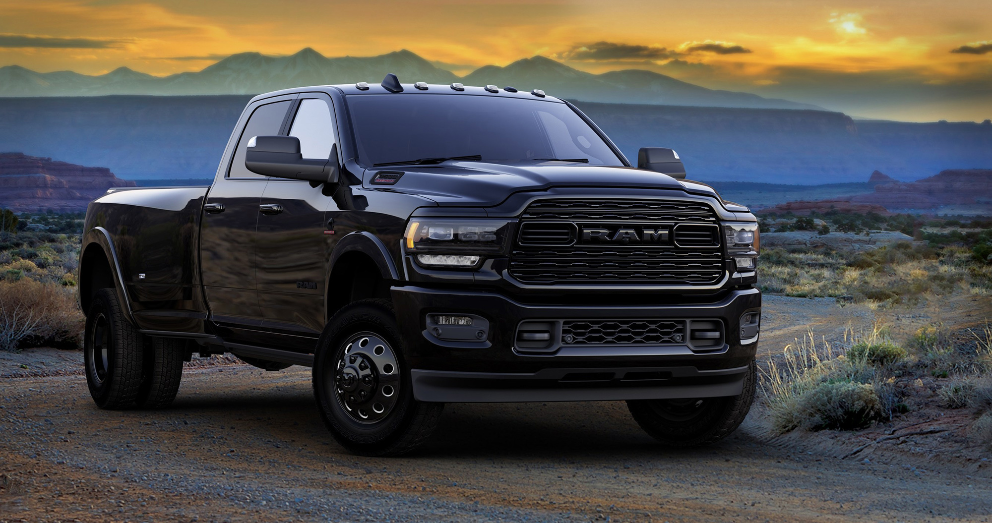 Ram Heavy Duty Black Edition - чёрная лошадка